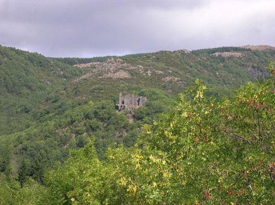 Ruines du château de Boissezon de Masviel (Murat-sur-Vèbre)