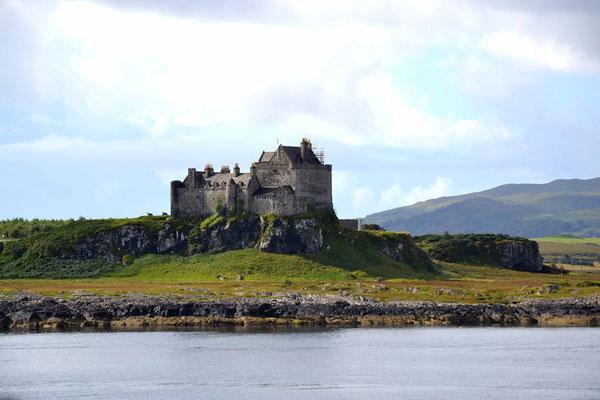 Schottland, Isle of Mull, Duart Castle, wo ich den Heiratsantrag machte