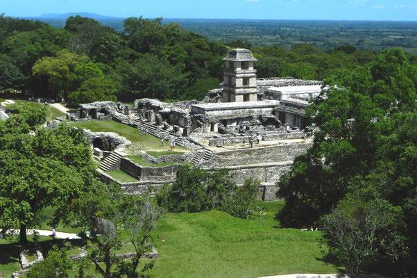 Mexiko, Palenque