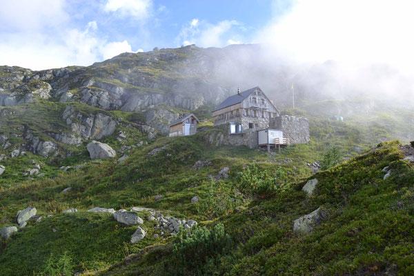 Windegghütte oberhalb Trifbrücke