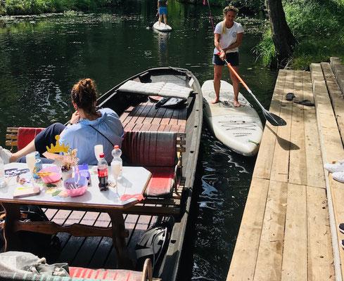 StandUp Paddle Einsteiger Kurs im Spreewald