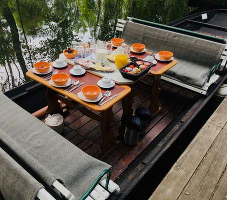 Frühstückskahnfahrt für 6 Personen