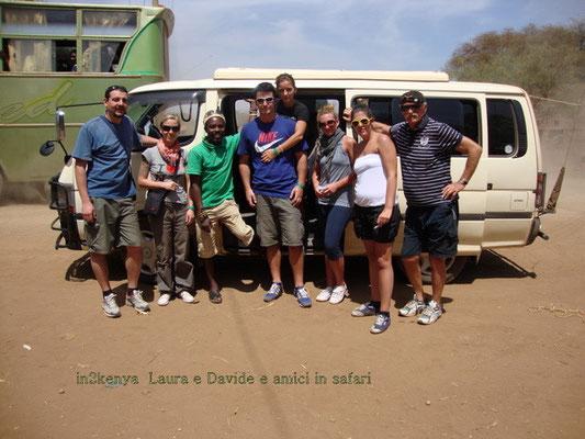 Laura e Davide allo Tsavo Est in2kenya