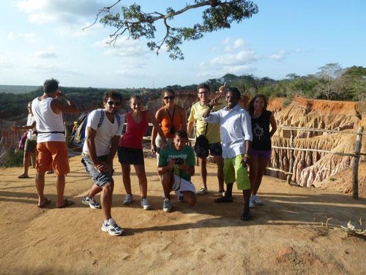 Digre, Marco e amici a Marafa in2kenya