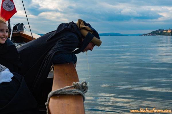Eine Seefahrt die ist......     neee Leute, alles nur gestellt ;-)