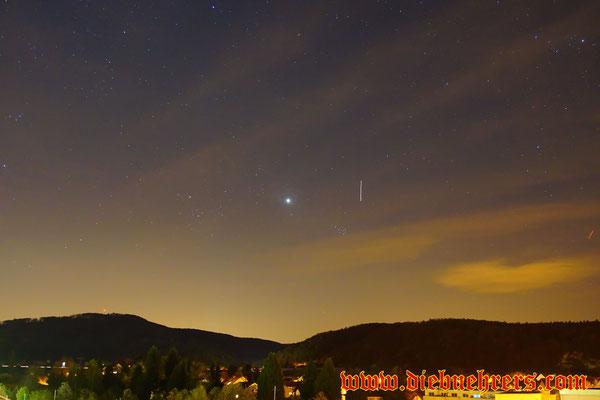 ISS über Rheinfelden