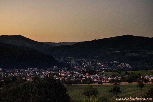 Blick in Richtung Schopfheim