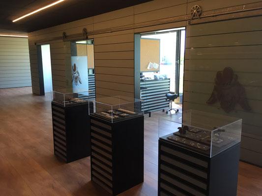 Umbau Tattoo-Studio Architektur Einrichtung Wand