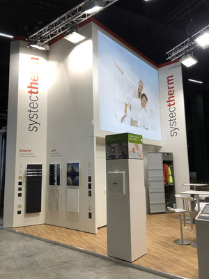 Systec Therm Messestand Live Kommunikation Event Grossanlass Veranstaltung Architektur