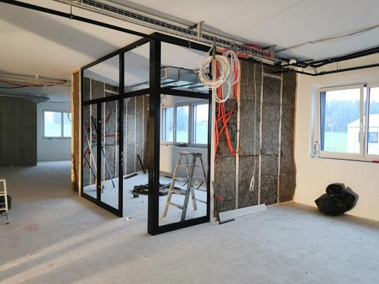 Lagerbewirtschaftung, Kundenmaterial, Messebau, Event, Ladenbau, Büro Umbau Architektur