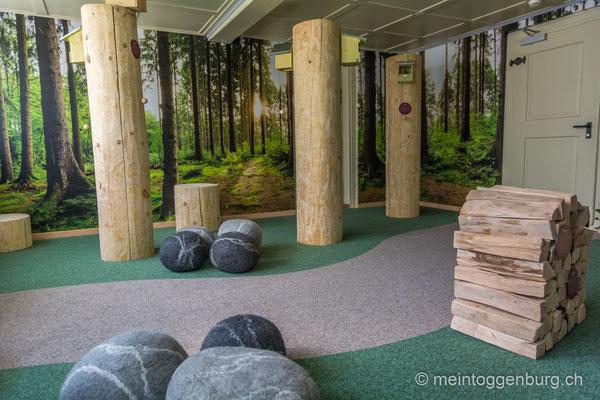 Erlebnisarchitektur Klangewelt Toggenburg Museum Umbau Baumwipfelpfad