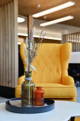 Tischdekoration, Lounge