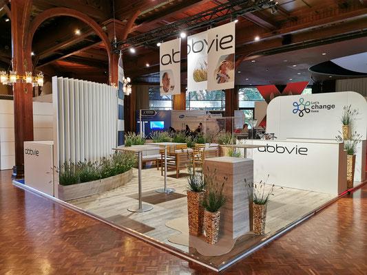 Messestand Abbvie Live Kommunikation Design Architektur Kongress Veranstaltung
