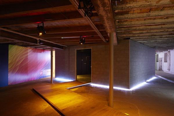 Umbau SwisKrono Design Architektur Einrichtung  Ausstellungsraum