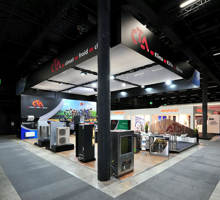 Messestand CTA Architektur Dekoration Design Grafik Live Kommunikation 3D