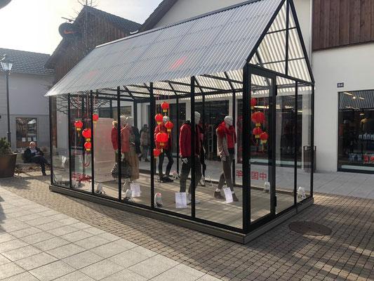 Gartenhaus Umbau Outlet Landquart Dekoration Schaufenstergestalltung