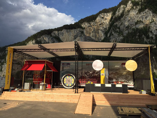 Jodelerfest Event Grossanlass Schweizerische Post  Buehnenbild