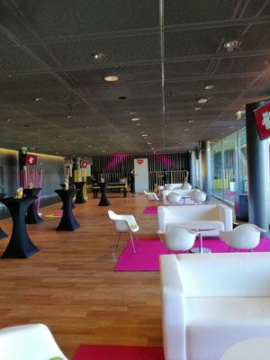 Personalanlass Event Mietmobiliar und Dekoration