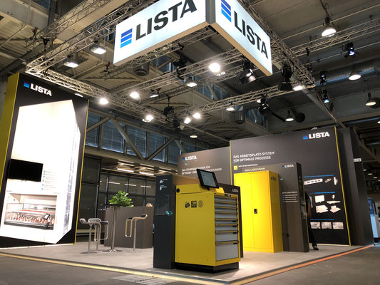 Lista Messestand Live Kommunikation Event Grossanlass Veranstaltung Architektur