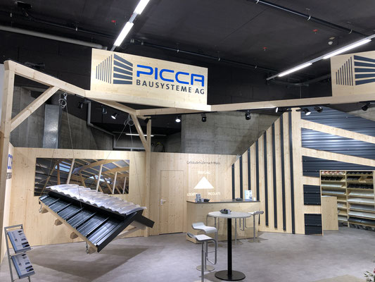 Picca Messestand Live Kommunikation Event Grossanlass Veranstaltung Architektur