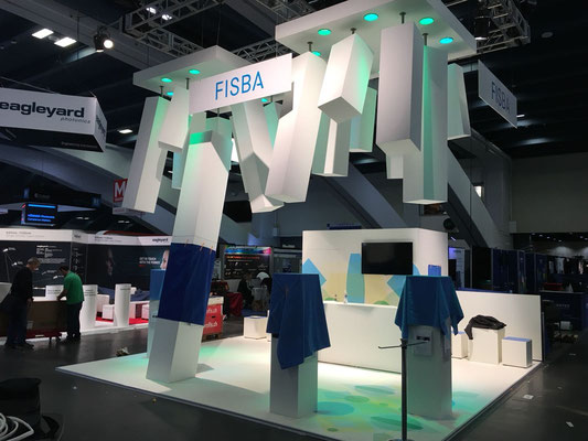 Fispa Messestand Live Kommunikation Event Grossanlass Veranstaltung Architektur
