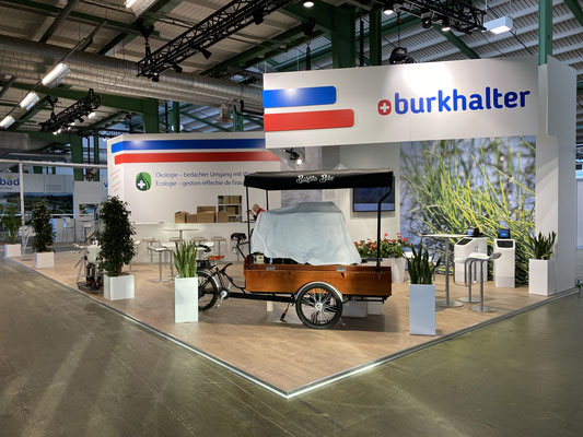 Burckhalter Messestand Live Kommunikation Event Grossanlass Veranstaltung Architektur