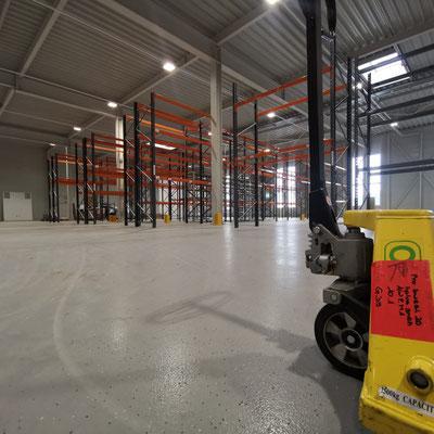 Lagerplatz Kundenmaterial Einlagerung
