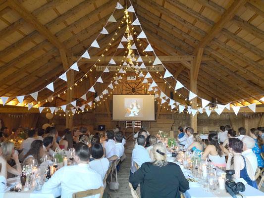 Vintage Weeding Hochzeitsdekoration rustikal Wimpel Girlanden Event