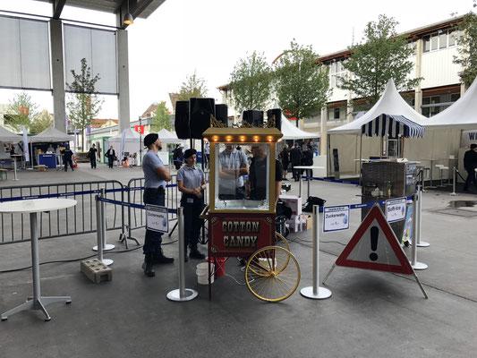 Securitas Event Grossanlass Bi de Luet Popcornstand