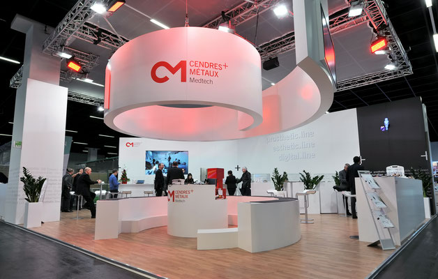 C+M Messestand Live Kommunikation Event Grossanlass Veranstaltung Architektur