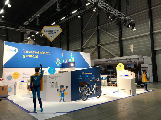 Messestand Live Kommunikation Event Grossanlass Veranstaltung Architektur