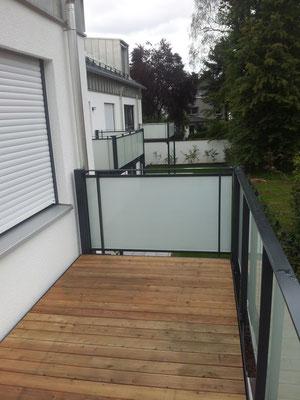 Glasgeländer - Absturzsicherung - Balkongeländer - © Glaserei Allgäuer