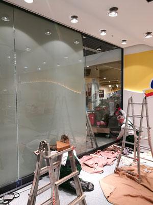 Glasreparatur Schaufenster - © Glaserei Allgaeuer