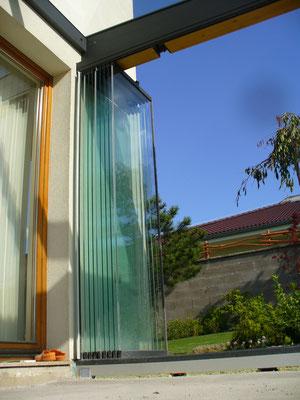 Schiebeverglasung - Terrassenverglasung - Schiebe-Dreh-Verglasung © Sunflex