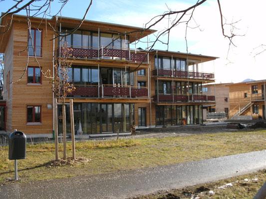 Fenster und Türen - Neubau - Pfosten-Riegel-Fassade - © Glaserei Allgäuer