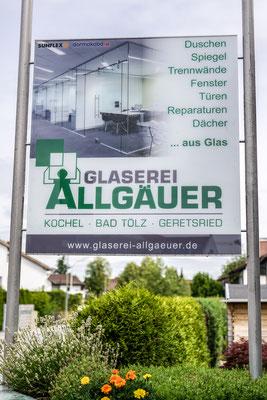 Ausstellung Glaserei Geretsried - © Glaserei Allgäuer