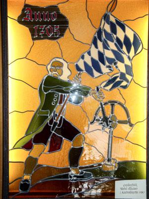 Bleiverglasung - Kunstverglasung - © Glaserei Allgäuer