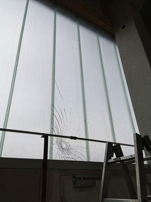 Reparatur Industrieverglasung - © Glaserei Allgaeuer