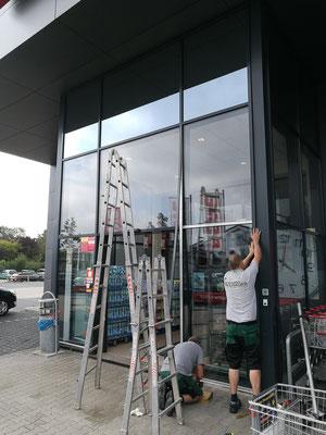 Glasreparatur Fassade - © Glaserei Allgaeuer
