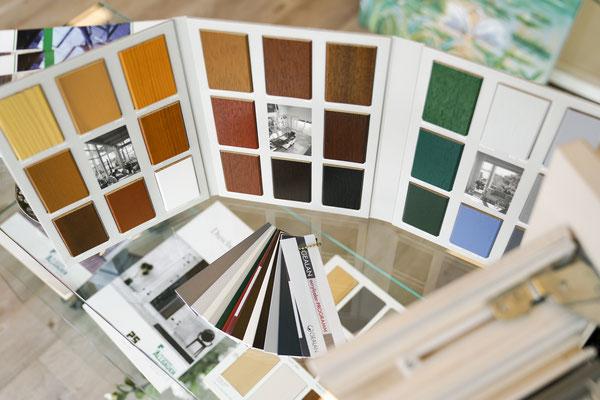 Fenster und Türen - Musterfenster - © Glaserei Allgäuer