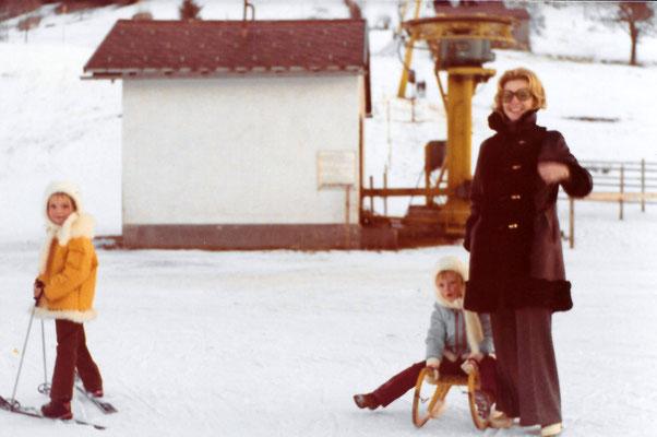Begegnungen mit Schnee in Vorarlberg