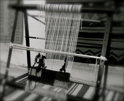 Artisanat berbere métier à tisser
