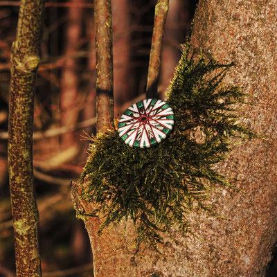 Posamentenknöpfe | Ø 29 mm | Material: Baumwolle, Holz