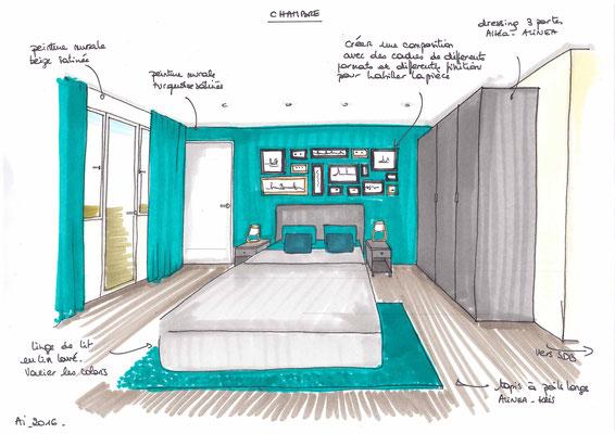 Atelier Inside-projet chambre
