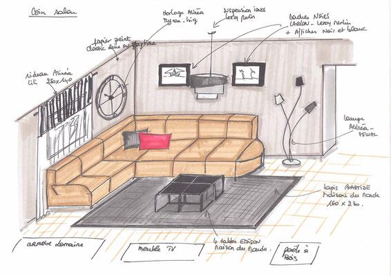 Atelier inside-projet salon