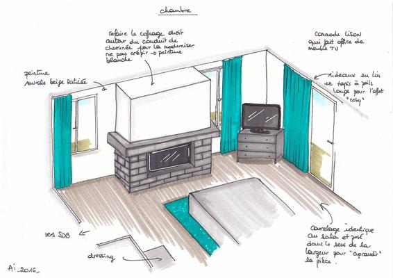 Atelier Inside-projet chambre2