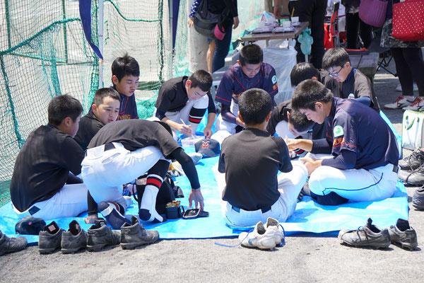 鹿児島ヤングヒーローズ 対 姶良ホークス 練習試合
