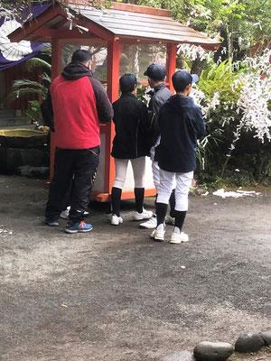 鹿児島ヤングヒーローズ、初詣、牧聞神社
