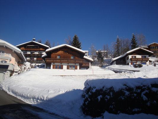 Unser Haus in der Winter-Wunder-Welt