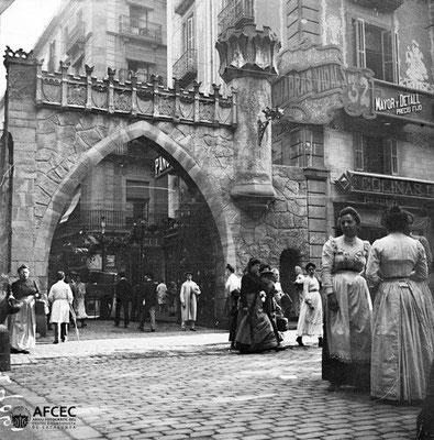 Rue Puertaferrisa Barelone